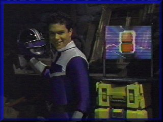 Michael Copon as LUCAS Blue Time Force Ranger